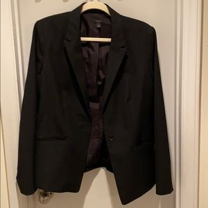 Ann Taylor black suit jacket